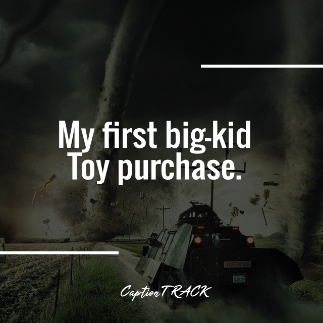 My first big-kid Toy purchase.